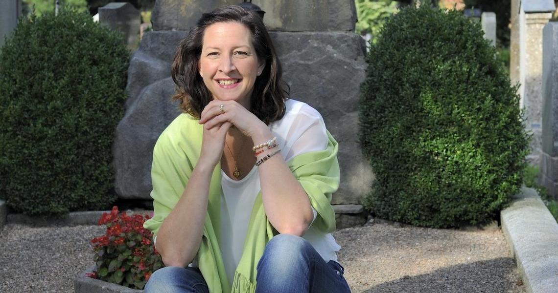 Trauerrednerin Antonia Kreis