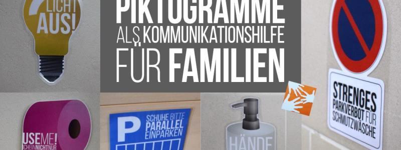 Piktogramme als Familien-Kommunikationshilfe – kostenloser Download