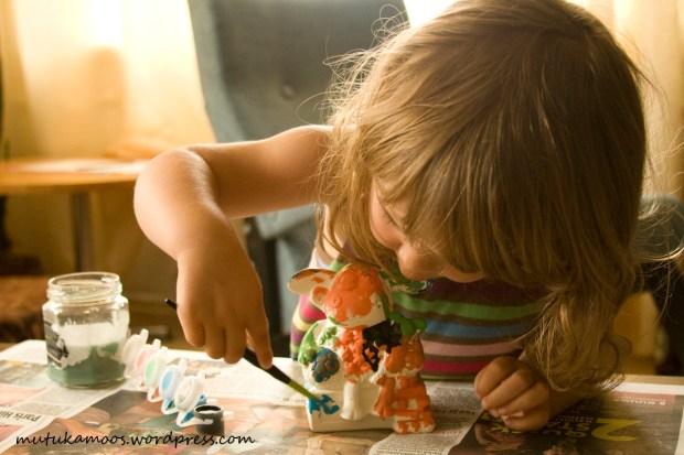 lastega värvimine