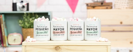 Mr.Wonderful tazas hermanos