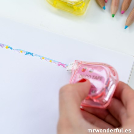 Mr.Wonderful cintas decorativas colores