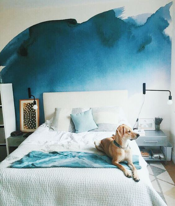 Pon color a tus paredes con estas bonitas acuarelas