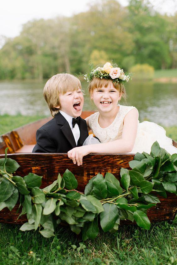 Peques de boda que están para comérselos