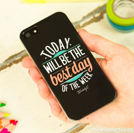 mrwonderful_MRCAR001_carcasa-negra-iphone-5-5S_today-will-be-best-day-22