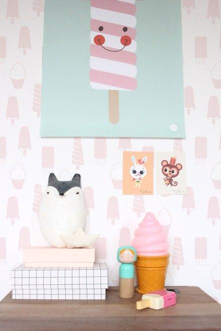 Lampara-infantil-helado-fresa-minimoi