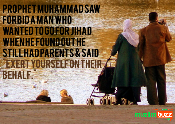 In Islam: Elderly & our Parents