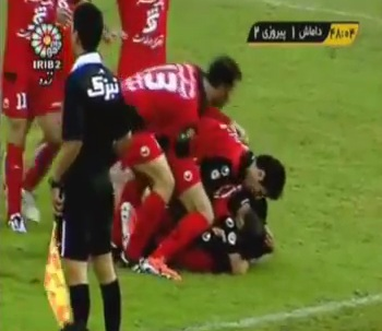 Iran players facing 74 lashes for celebrating a goal