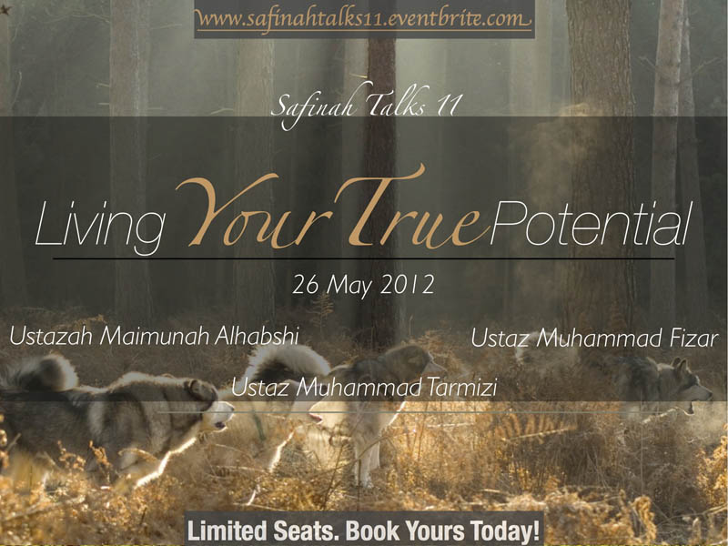 "Event Review: Safinah Talks 11 ""Living Your True Potential"""