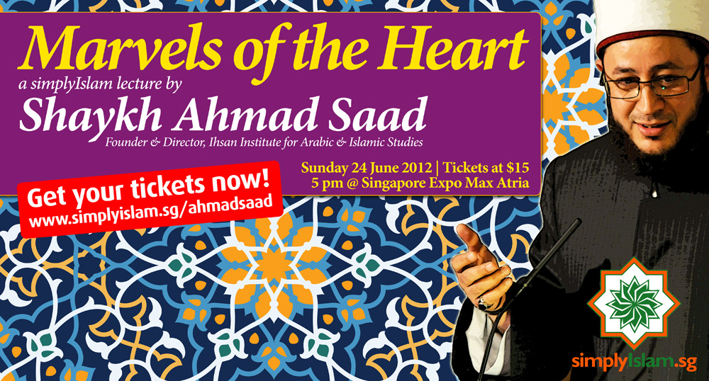 Event Review: Marvels of the Heart by Shaykh Ahmad Saad