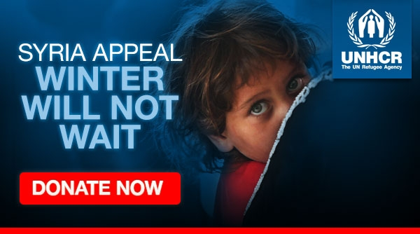 Syria Appeal: Winter will not Wait