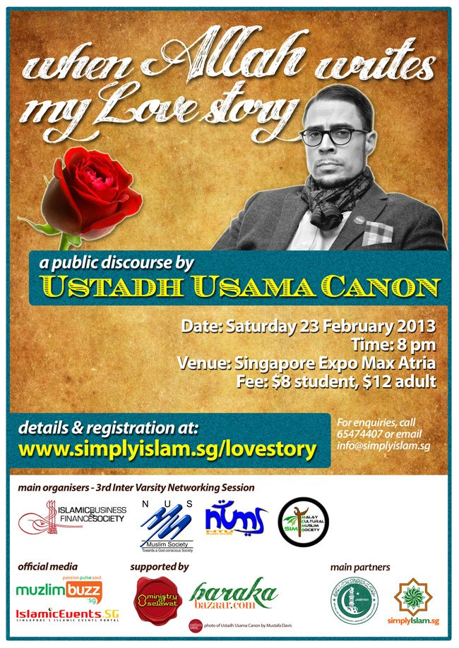 Event Review: When Allah Writes My Love Story