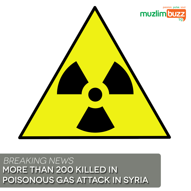More than 200 killed in poisonous gas attack in Syria