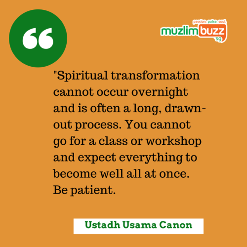 -Spiritual transformation cannot occur