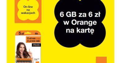 Wakacyjny pakiet internetowy