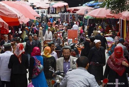 Uyghurs in Xinjiang