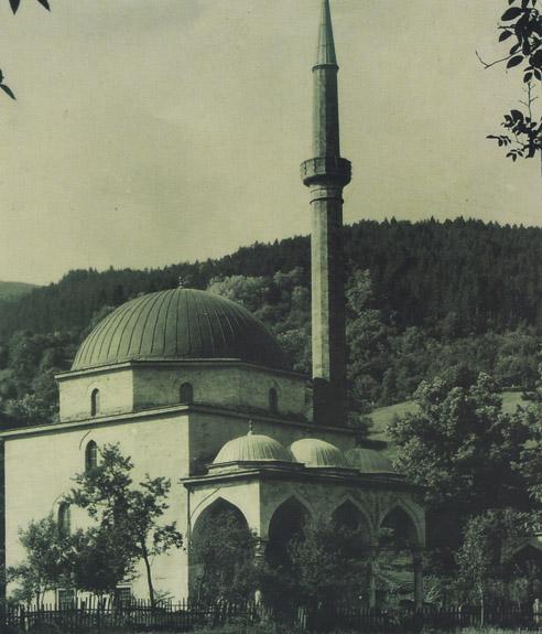The Aladza Mosque in Foca, Bosnia and Herzegovina.