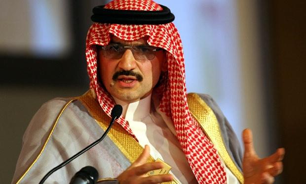 Prince Alwaleed bin Talal from Saudi Arabia
