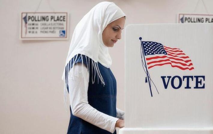 muslim-woman-voting