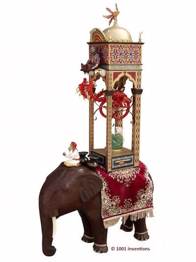 elephant clock 2016
