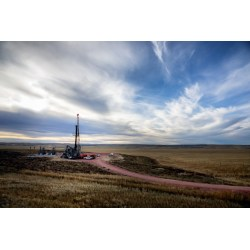 Small Crop Of North Dakota Landscape