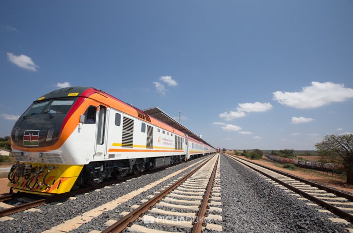SGR Nairobi – Mombasa Test Ride