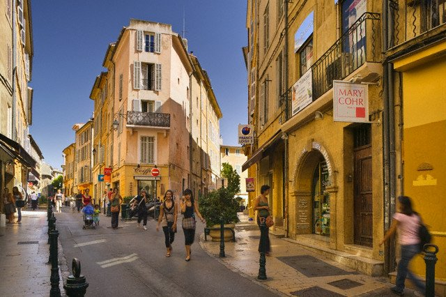 Typical Street Scene in Vieil Aix