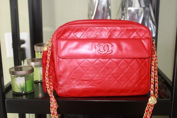 Chanel #15 - Red Lambskin