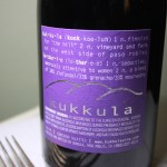 Wine Wednesday – KUKKULA winery in Paso Robles