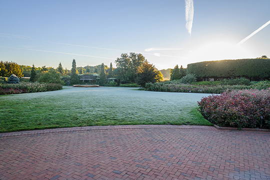 View 3: The Rose Garden in fall