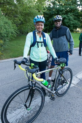 PHOTO: Biking to and from the Garden is better than ever with the North Branch Trail connection, and newly-available bike rentals.