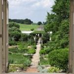 PHOTO: A view into the courtyard of Oak Spring Farm, the Mellons' Virginia estate.