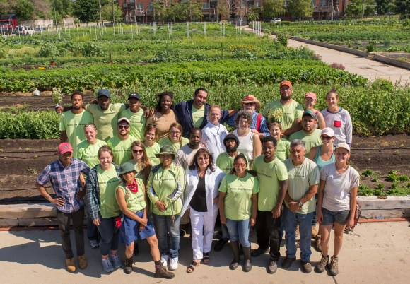 PHOTO: Windy City Harvest is part of a team competing in the Food to Market Challenge.
