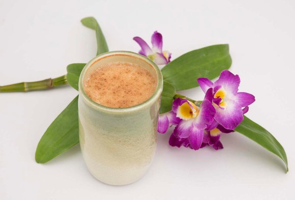 PHOTO: Salep and dendrobium orchids.