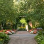 PHOTO: The Sensory Garden in late spring.