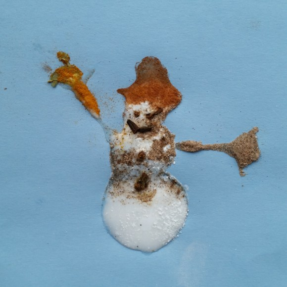 PHOTO: Spice holiday card: snowman.