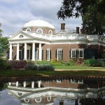 PHOTO: The fish pond at Monticello.