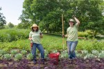 PHOTO: Fruit and Veg interns Leslie and Rachel