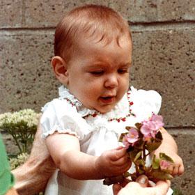 PHOTO: Julia McMahon as a baby.