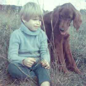 Pati in Virginia, age 6