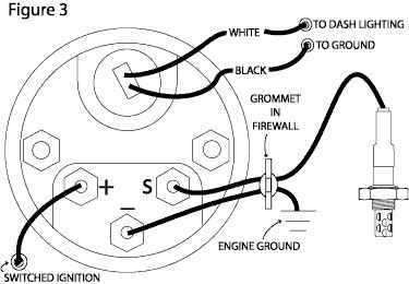 car engine temperature gauge wiring diagram car voltmeter