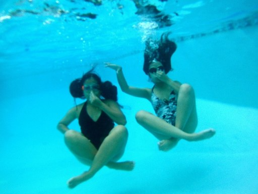 Underwater Tea Party