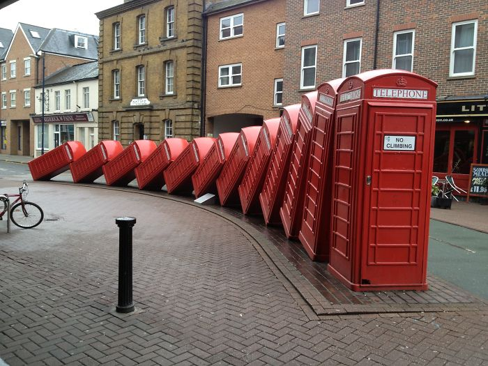 17. Phone booths, Kingston, London