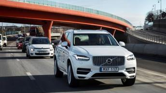 VOLVO CARS TO LAUNCH AMBITIOUS AUTONOMOUS DRIVING TRIAL
