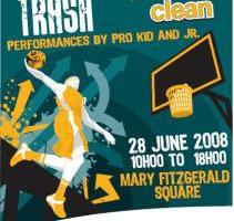Slam Da Trash flyer