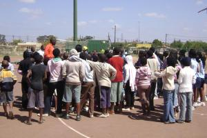 PSBA hosts a basketball Clinic in Mamelodi