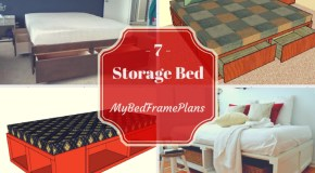 7 Free Storage Bed Frame Plans