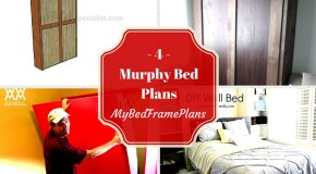 4 Free Murphy Bed Plans