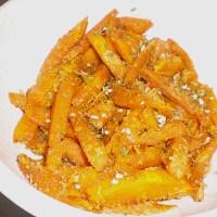 German Pumpkin Fries Instead of Potato Fries