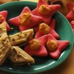 German Christmas Cookies: Filled Almond Stars
