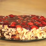 Strawberry Zebra Cake Recipe - Authentic German